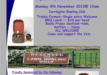 MUA Newcastle Branch Lawn Bowls Day