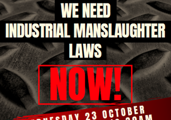 Industrial Manslaughter Rally